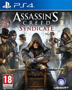 Assassin's Creed: Syndicate  PlayStation 4 Cover Art