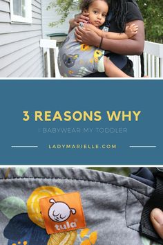 Why I baby wear my toddler