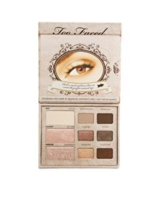 Too Faced Natural Eye Palette- swatched