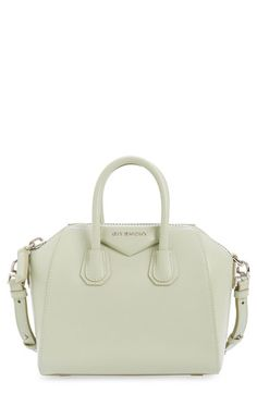 2e310c296673 Givenchy  Mini Antigona  Box Leather Satchel