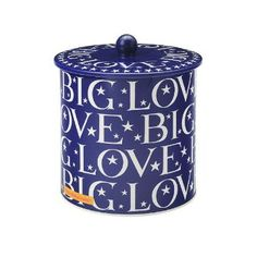 Emma Bridgewater Winter House avec biscuits barrel Renne conteneur de stockage