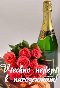 Klikněte pro zobrazení původního (velkého) obrázku Champagne Bottles, Happy Birthday Quotes, Healthy Sweets, Lol, Humor, Stars, Fotografia, Laughing So Hard, Humour