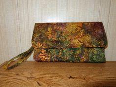Clutch Bag in Batik