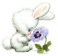 Printable - Cute Rabbit - Ruth Morehead
