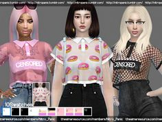 NP x Peterpan CropTop Transparent for The Sims 4 Sims 3, Sims 4 Teen, Sims 4 Toddler, Sims Four, Sims 4 Cas, Sims 4 Mods Clothes, Sims 4 Cc Kids Clothing, Maxis, Tumblr Sims 4