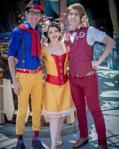 I'm so fortunate I got to spend Dapper Day with two of my favorite people! When I was doubting my outfit they encouraged me to go for it. Their support means the world to me! Photo credit: @fatmanphotography  #Disney #Disneyland #Disneyland60 #DapperDay #DapperDay2016 #SnowWhite #BroWhite #PrinceEdward #Enchanted #WinnieThePooh #Disneybound #Disneybounding #Genderbent #Friends by andrewclemmons