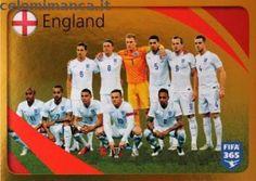 FIFA 365: Fronte Figurina n. 856 England