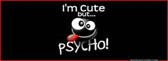 Cute Facebook Covers Timeline | so very cute Timeline Covers photo : cute but psycho