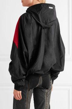 Vetements - Reebok Oversized Hooded Shell Jacket - Black - x small