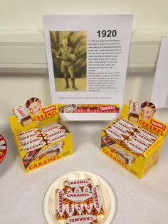 Tunnock's caramel waffers at #WWI event