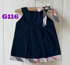 Dress burberry navy (G116) || size S-XXL || IDR 102.000