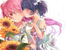Happy Sugar Life Manga Anime, Anime Art, Yuri, Dark And Twisted, Popular Anime, Dark Anime, Angel Of Death, Yandere, Me Me Me Anime