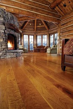 I would decorate that room beautifully and hibernate there for the winter. : )