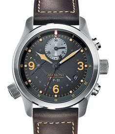 Bremont Limited Edition P-51 Watch #bremont British Watchmakers London #horlogerie @calibrelondon