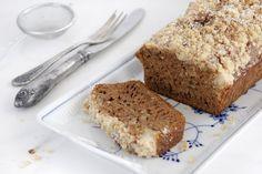 Honey, Coffee and Pecan Cake