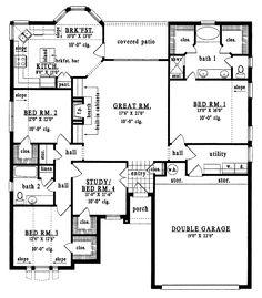 3 Bed Bungalow Floor Plans   Google Search