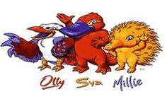 Olly, Syd, and Millie  2000 Sydney Olympic mascots
