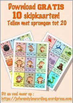 Goed nieuws voor wie de skipkaarten wil gebruiken in het eerste leerjaar of groep 3! Want vanaf nu zijn er voor jullie maar liefst 10 verschillende spelletjes beschikbaar! De ideale manier om de sp…