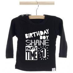 Shirt birthday boy