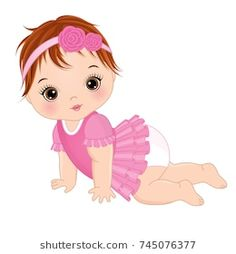 121 Best Baby Girl Clipart Images Baby Clip Art Baby