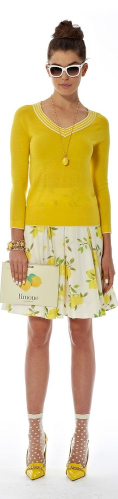 LOOK with LOLO: NYFW Kate Spade New York Spring 2014 RTW