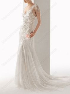 2014 Sexy Style Manual Dresses Vneck shoulders by Manualdresses