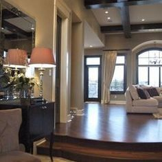 traditional living room by Veranda Estate Homes & Interiors