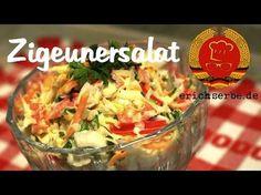 Zigeunersalat - Essen in der DDR: Koch- und Backrezepte für ostdeutsche Gerichte | Erichs kulinarisches Erbe