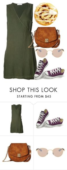 """""""Untitled #5468"""" by rachellouisewilliamson ❤ liked on Polyvore featuring Converse, Gabriella Rocha and Mykita"""