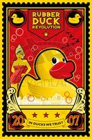 Rubber Duck Revolution by DomNX on DeviantArt Revolution Poster, What The Duck, Quack Quack, Rubber Duck, Spirit Animal, Canvas Art Prints, Framed Wall Art, Duck Duck, Bathroom