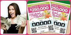 #LoteriaTradicional numeros ganadores del Jueves 20 de Julio 2017. Visita el blog ►