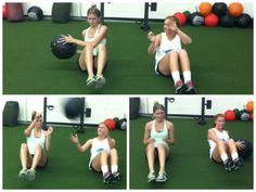 Fun partner workout moves!