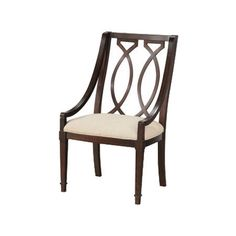 Swoop-arm+side+chair+with+a+double+marquise+back.+++Product:+ChairConstruction+Material:+Radiata+hardwood+solids,+elm+...