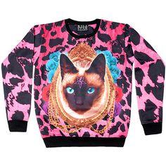 Siamese Sweatshirt [MULTI] | KILLSTAR