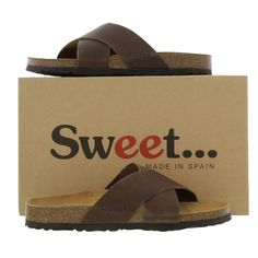 Sweet Womens Zoey Sandals - Waxy Brown