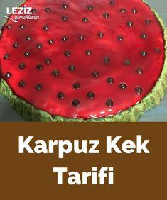 Karpuz Kek Tarifi Chocolate Cake, Drink, Holiday Decor, Food, Fruit Tartlets, Chicolate Cake, Chocolate Cobbler, Beverage, Chocolate Cakes