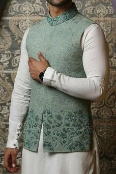 Look at these latest mens fashion 14451 - Wedding And Engagement Mens Indian Wear, Mens Ethnic Wear, Indian Groom Wear, Indian Men Fashion, Latest Mens Fashion, Indian Male, Sherwani For Men Wedding, Wedding Dresses Men Indian, Indian Wedding Wear