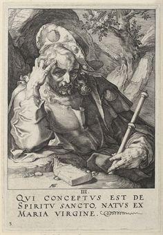 """""""Saint James the Greater"""", 1589, Hendrick Goltzius (1558-1617), Museum Boijmans Van Beuningen"""