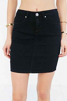 BDG 5-Pocket Denim Mini Skirt - Urban Outfitters