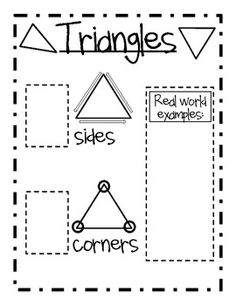 2D Shape Book  Change 'corners' to 'vertices'