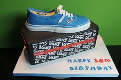 Vans Shoe and Box