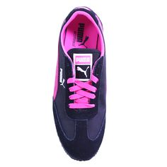 Puma Women's 'Caroline Stripe' Retro Wedge Sneakers - Overstock™ Shopping - Great Deals on Puma Sneakers