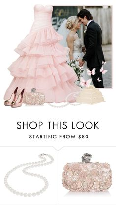 Wedding by fashionrushs on Polyvore featuring Dolce&Gabbana, Alexander McQueen and Nadri