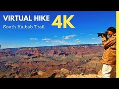 Join me as I hike South Kaibab trail, one of the signature hikes at Grand Canyon. Virtual Travel, Virtual Tour, Relaxing Rain Sounds, Grand Canyon Hiking, Places To Travel, Places To Visit, Central Park Manhattan, Landscape Photos, Landscape Photography