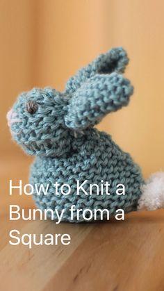 Baby Knitting Patterns, Crochet Blanket Patterns, Loom Knitting, Crochet Stitches, Knitting Ideas, Beginner Knitting Projects, Easter Crochet Patterns, Amigurumi Patterns, Crochet Bunny