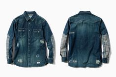 Neighborhood x Haven capsule collection mens denim shirt