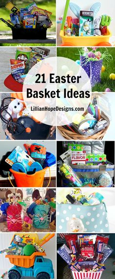 21 great Easter Basket Ideas to help you get ready for Easter this year. From kids to teenagers were have you covered with great ideas everyone will love!