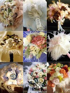 #Bouquets with #feathers