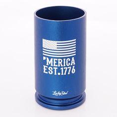 30MM A10 WARTHOG 3 BULLET CASING USA EAGLE SHOT GLASS