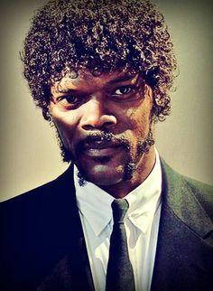 "Pulp Fiction - Samuel L Jackson as hitman Jules Winnfield ""Bad Mother Fucker"" #GangsterMovie #GangsterFlick"